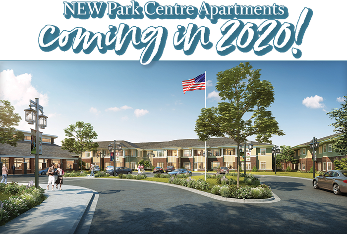 NEW Park Centre Apartments coming in 2020!